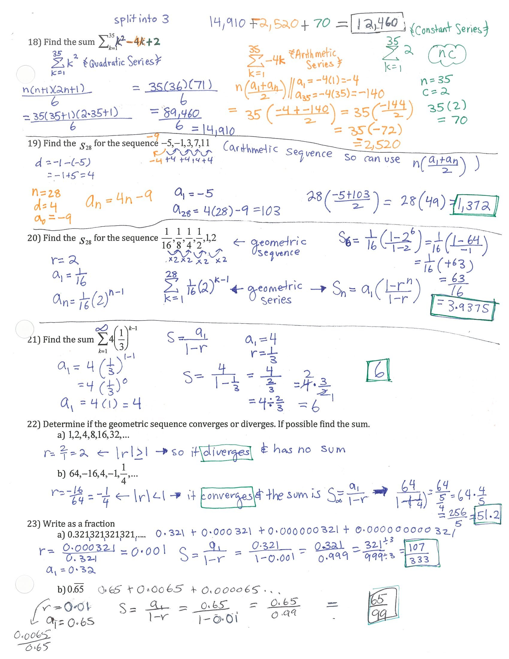 9 2 Study Guide And Intervention Solving Quadratic