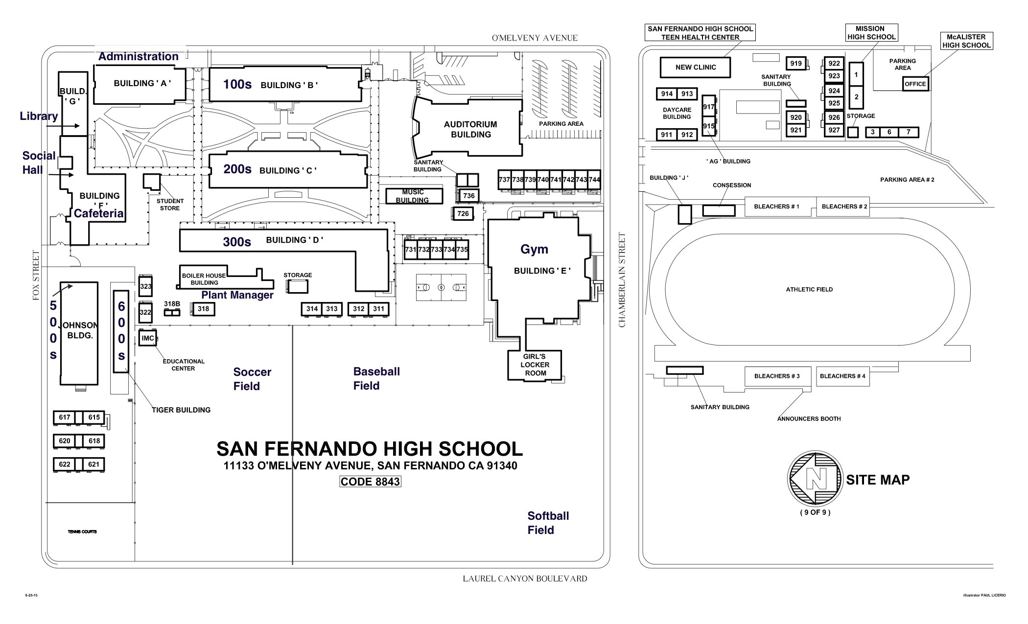 School Map – About Us