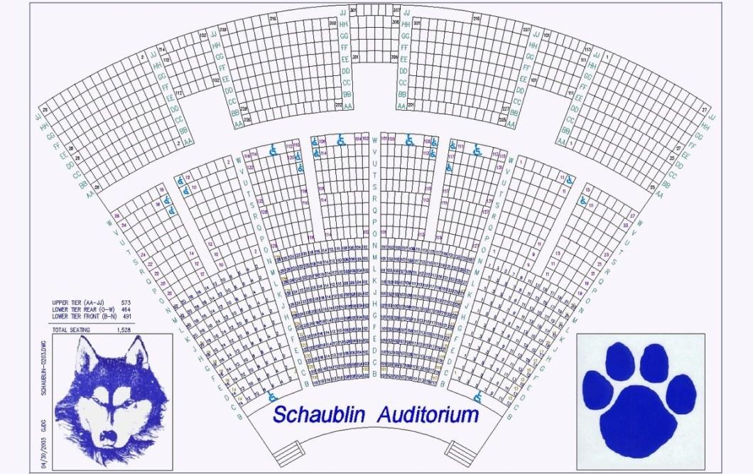 Emens auditorium muncie in seating chart wallseat co