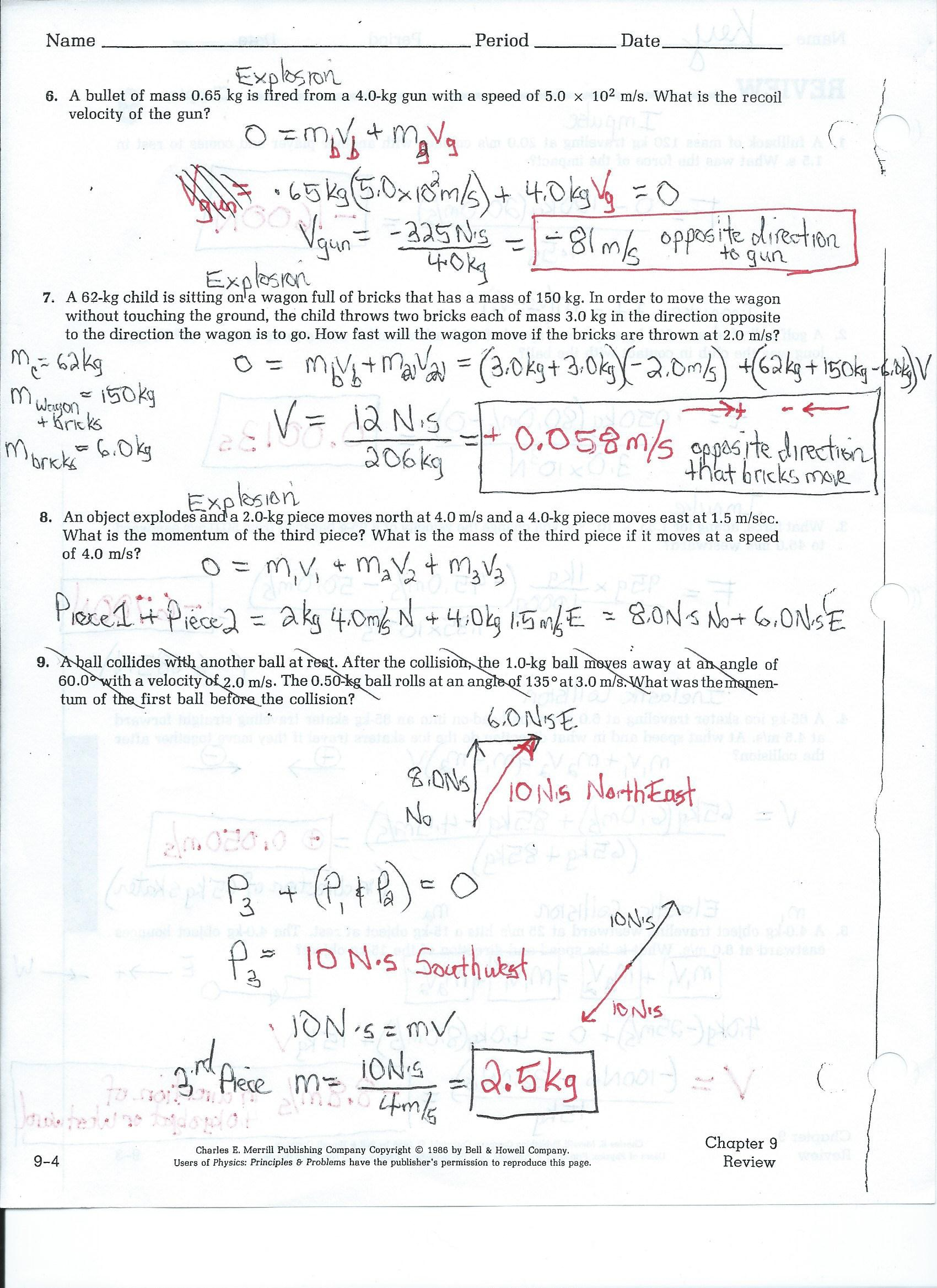Conceptual Physics Chapter 8 Energy