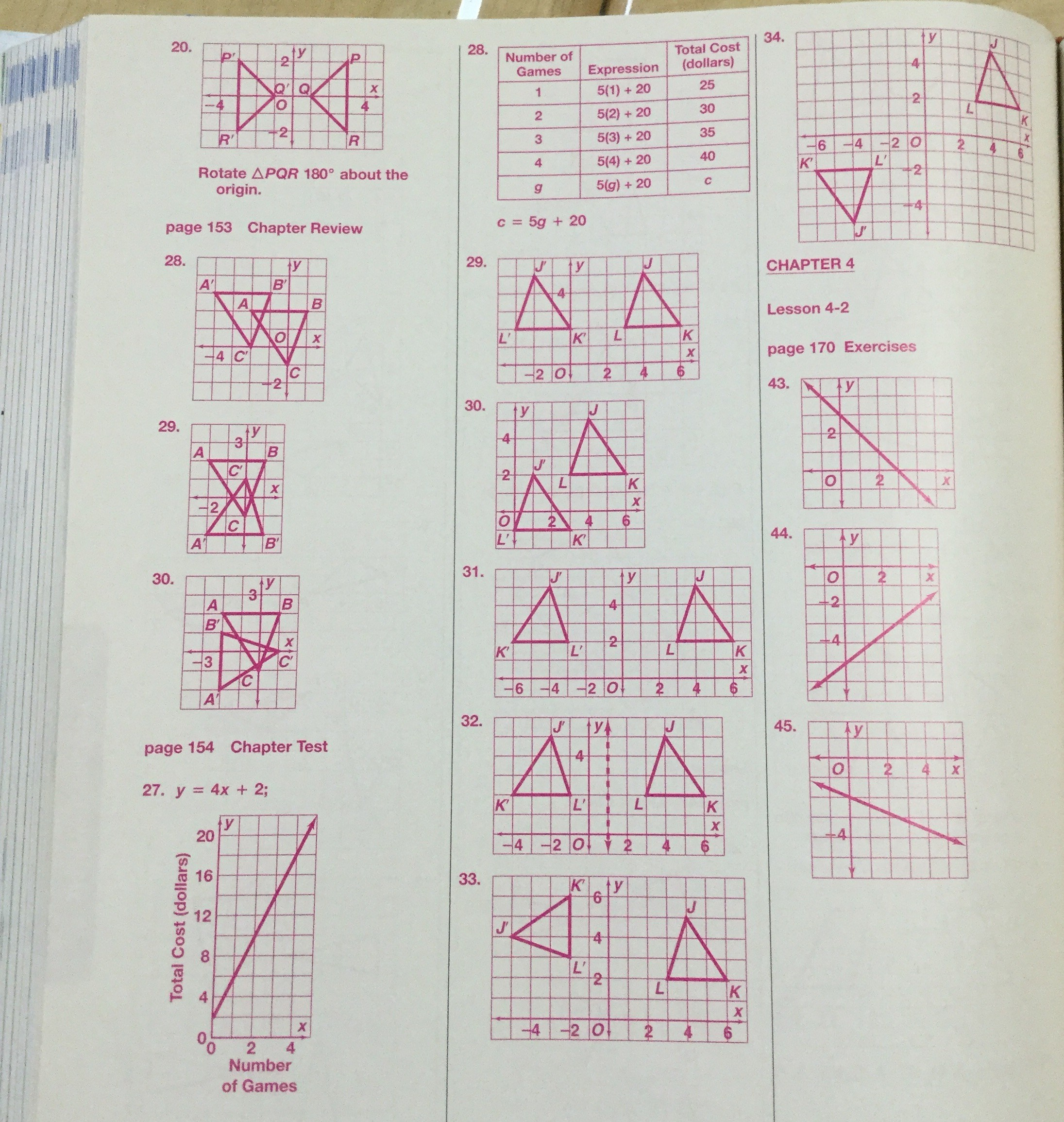 Math Faceing Worksheets And Answers Math Best Free