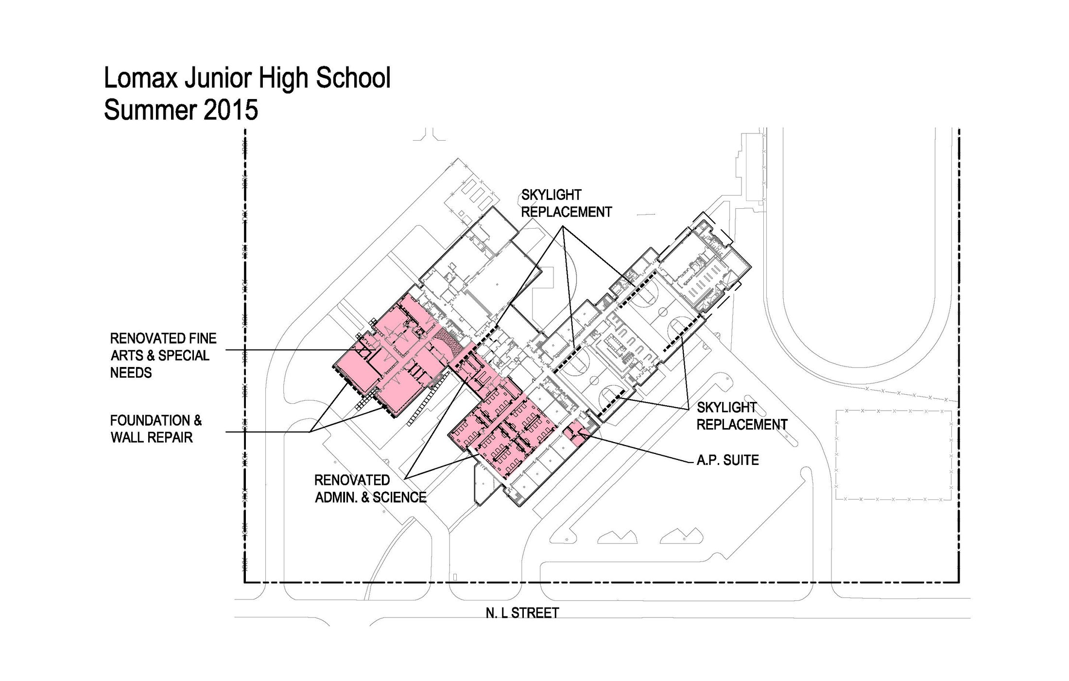 Lomax Junior High – 2014 Bond Program