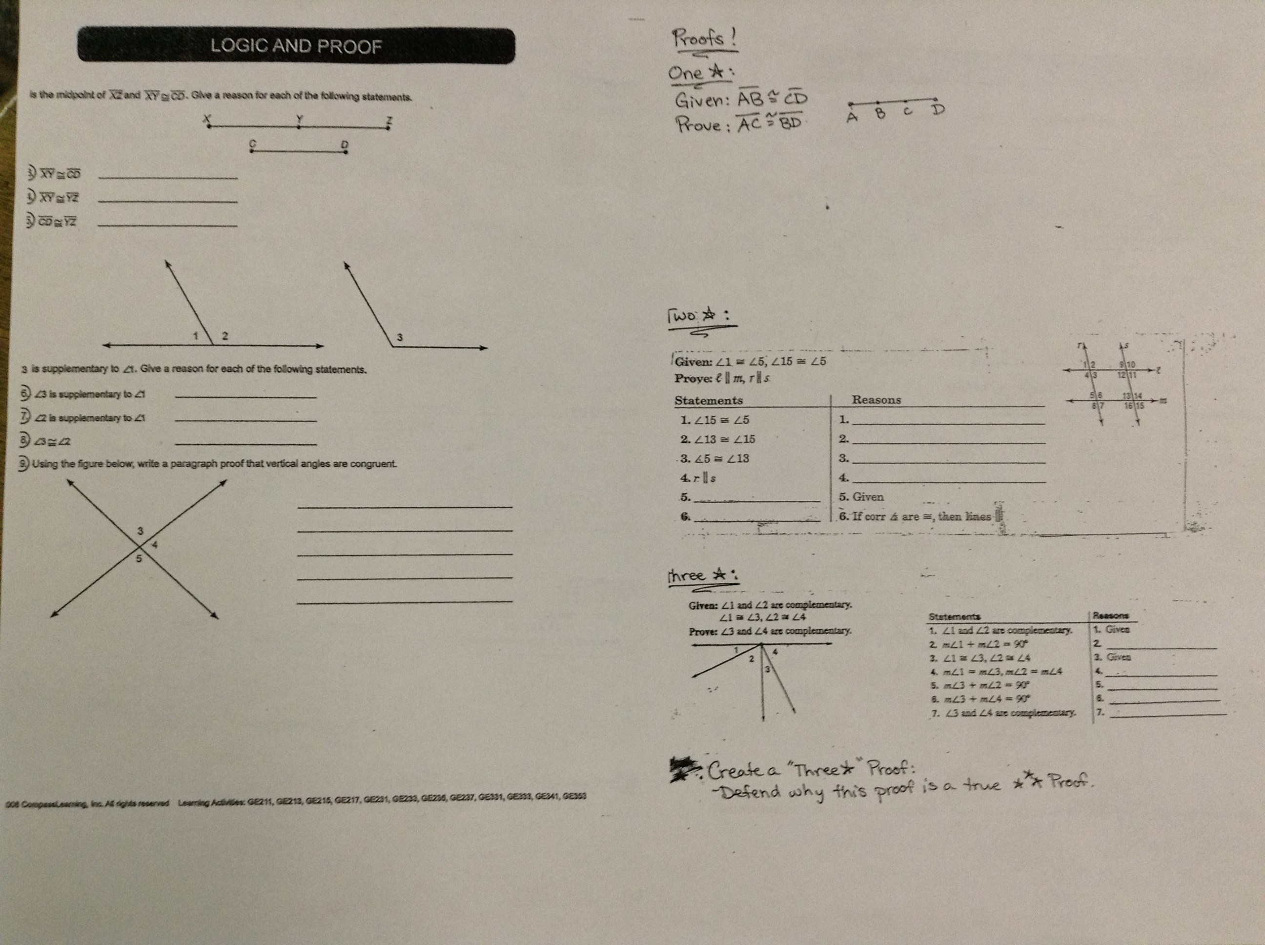 Sss Sas Asa And Aas Congruence Worksheet Answers