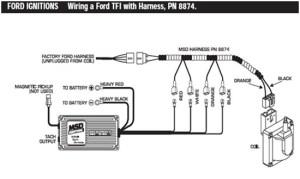 MSD 6AL Ignition Module w Rev Control  Installation