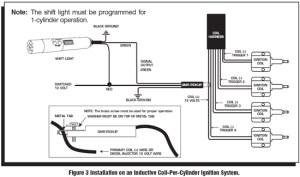 MSD Programmable Digital Shift Light  Installation