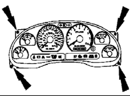1999 Ford F150 Instrument Cluster Wiring Diagram