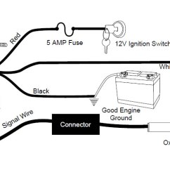 Auto Meter Fuel Gauge Wiring Diagram For Cub Cadet Zero Turn Mower How To Install An Pro-comp Ultra-lite Air/fuel Ratio - Electric On Your 1979 ...