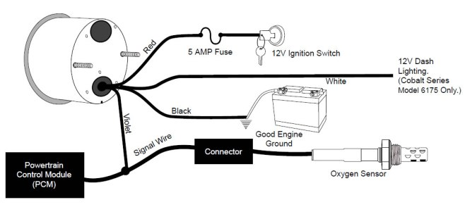 Wiring Diagrams Automotive Gauges – powerking.co