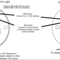 Autometer Temp Gauge Wiring Diagram Lights In Parallel How To Install An Auto Meter Pro-comp Ultra-lite Water - Electric On Your 1979-2012 ...