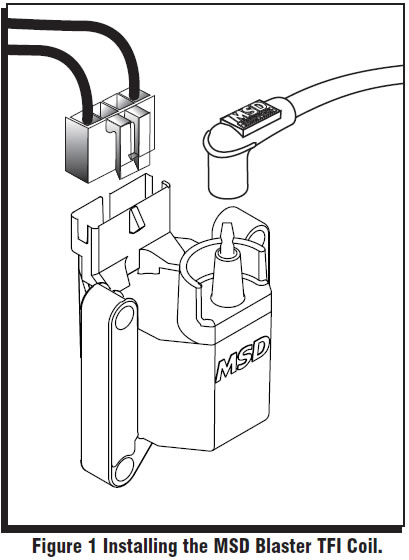 Wiring Diagram Electronic Ignition Conversion Kit, Wiring