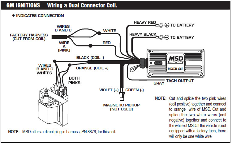 Msd 6425 Wiring Diagram How To Install An Msd 6a Digital Ignition Module On Your