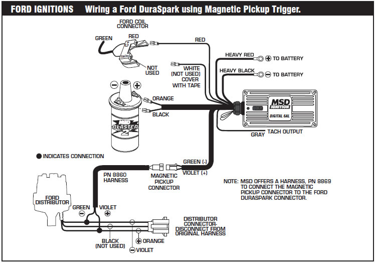 Mallory Magnetic Breakerless Distributor Wiring Diagram ... on mallory marine distributor parts guide, mallory distributor identification, mallory magnetic distributor installation,