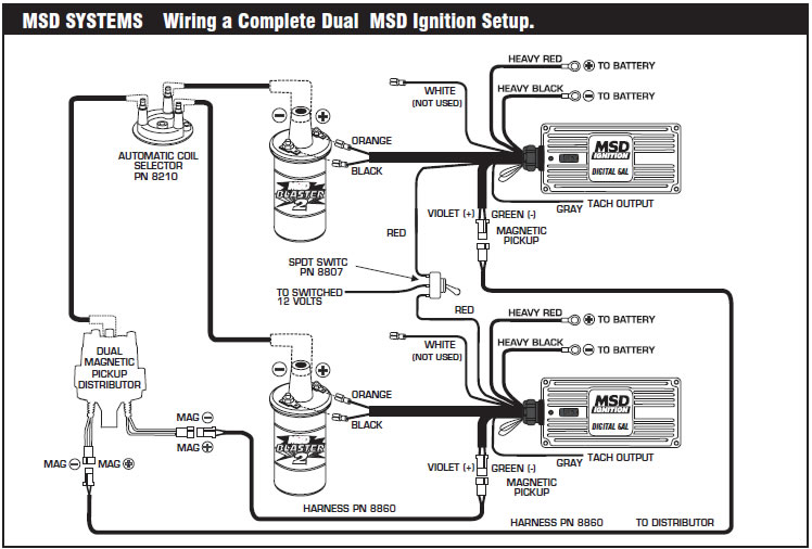 Msd 6a 6200 Wiring Diagram, Msd, Free Engine Image For