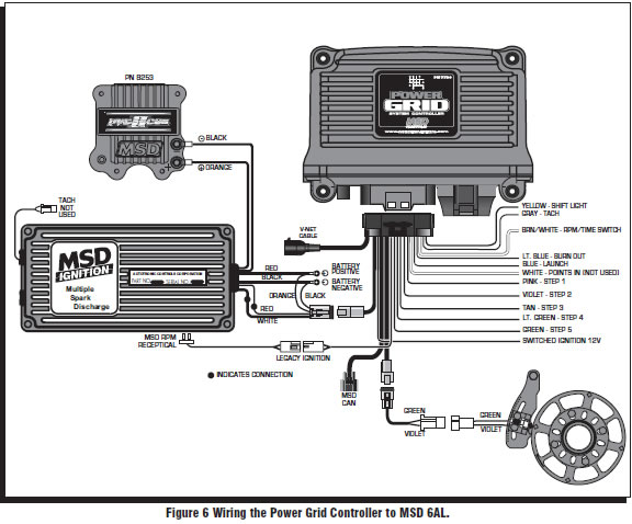 Msd Retard Box Wiring Diagram MSD Ignition On Late Model