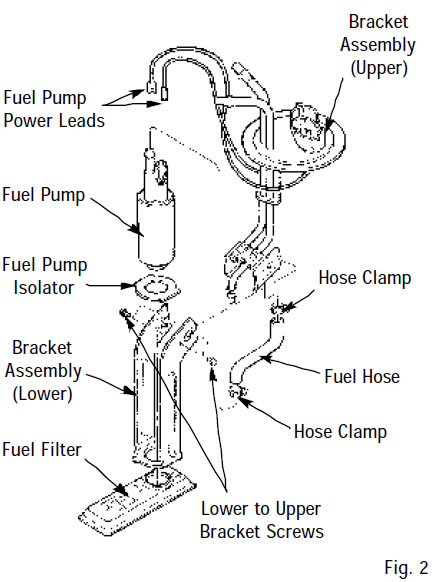 How To Install In Tank Fuel Pump In 1985 1986 Ford F150