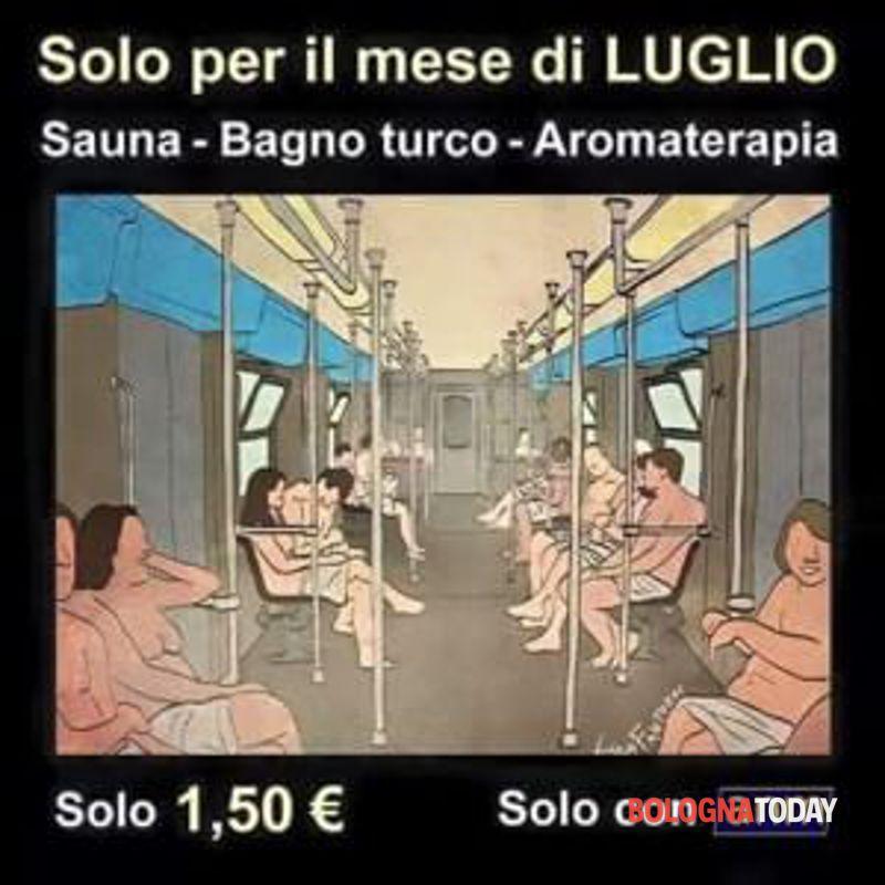 Tutti a far la sauna e bagno turco sugli autobus Tper  Segnalazione a Bologna