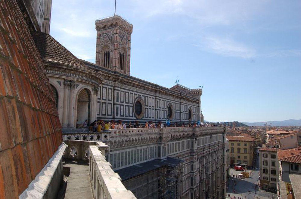 Visita guidata lungo le terrazze del Duomo