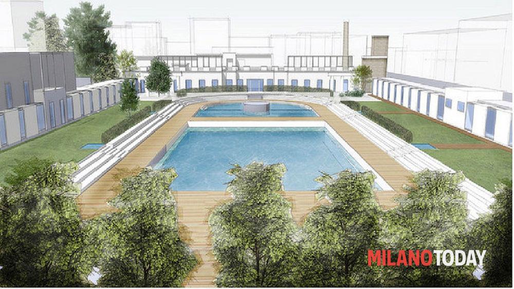 Lavori riqualificazione piscina Caimi Milano