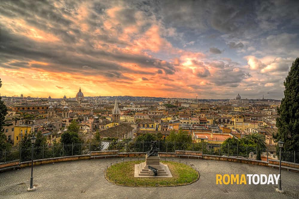 Il Pincio storie leggende e panorami su Roma