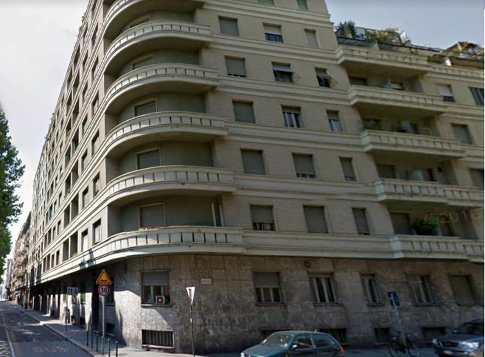 Caduta dal palazzo  Corso Rosselli
