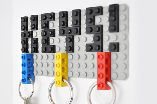 Design Milk's Lego key holder