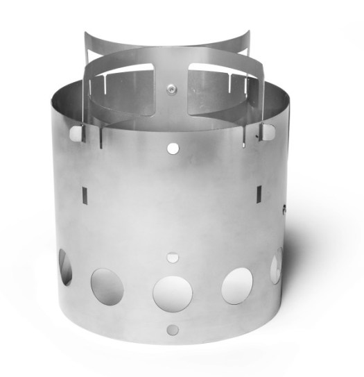 Collapsible Stainless Steel Camp Stove By Kent Hering in technology Category