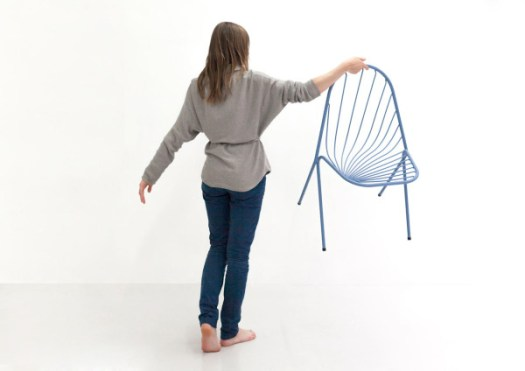 Drapée: A Stackable Chair by Constance Guisset in home furnishings Category