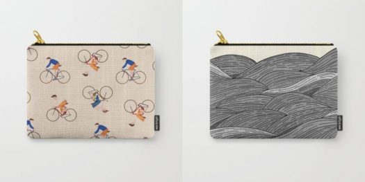 10 Pouches From Society6 To Help You Get Organized For Spring