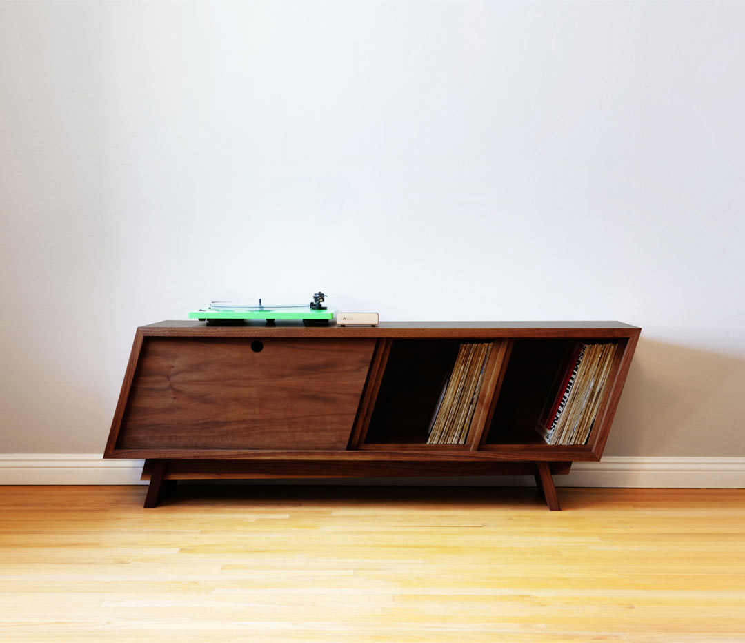 Designing and Building a Modern Record Player Console