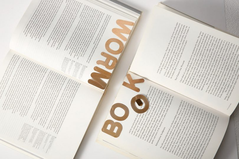 Illusion Alphabet Bookmarks by PHAIdesign