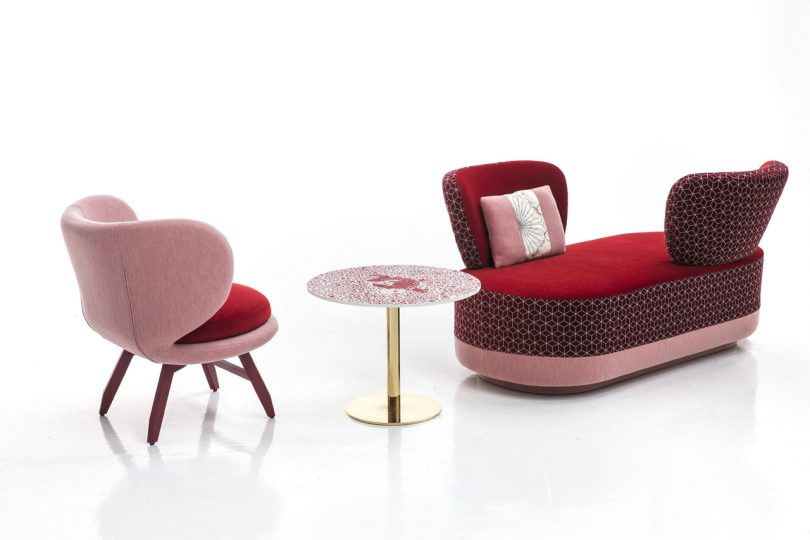 Moroso Expands the Sushi Collection by Edward Van Vliet