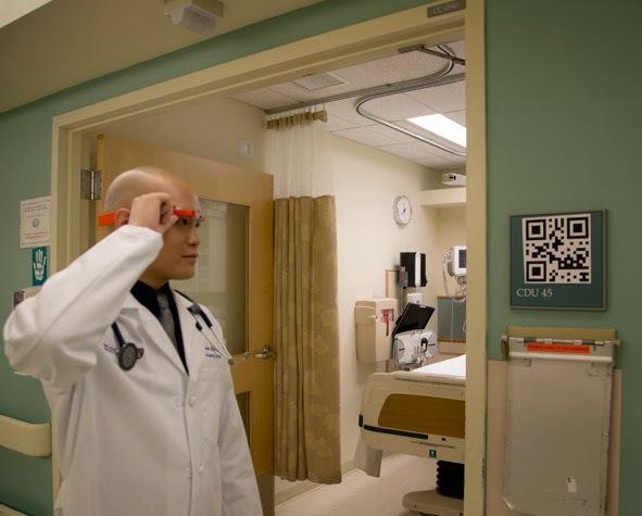 Ärzte testen Google Glass