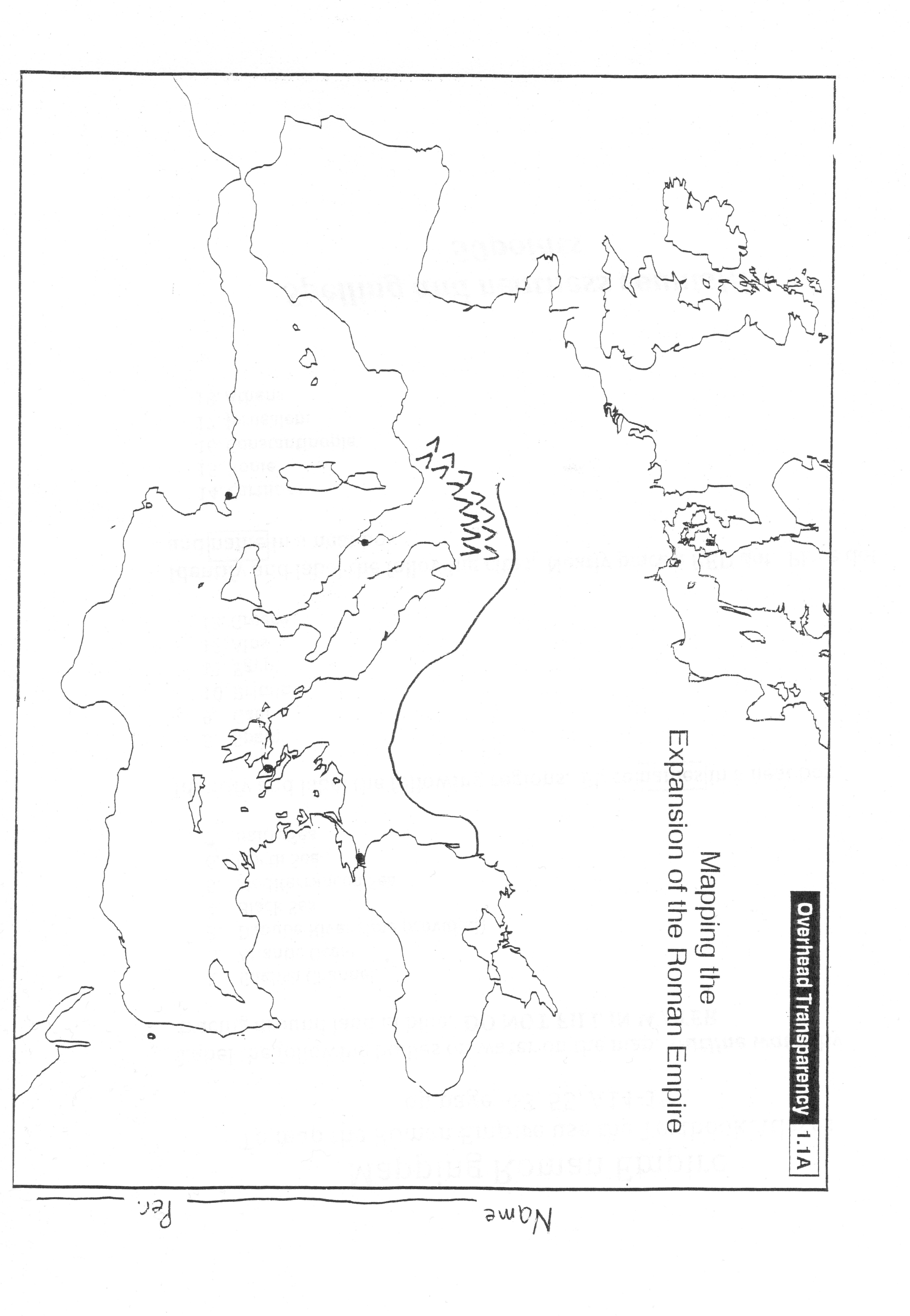 1. Roman Empire Folder – Ms. Claudia Villegas