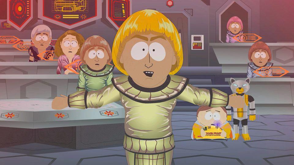 Cartman no futuro ateu