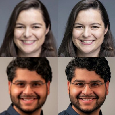 Enhance! Google researchers detail new method for upscaling low-resolution images with impressive results
