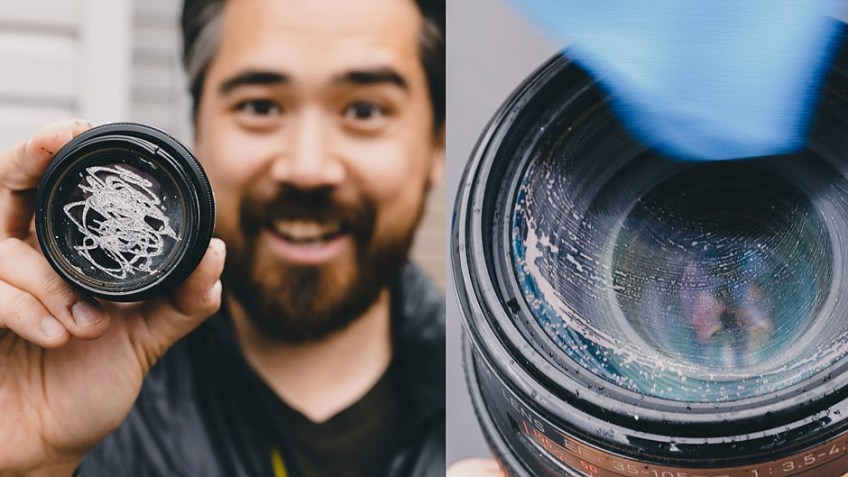 Best (and worst) ways to clean camera lenses