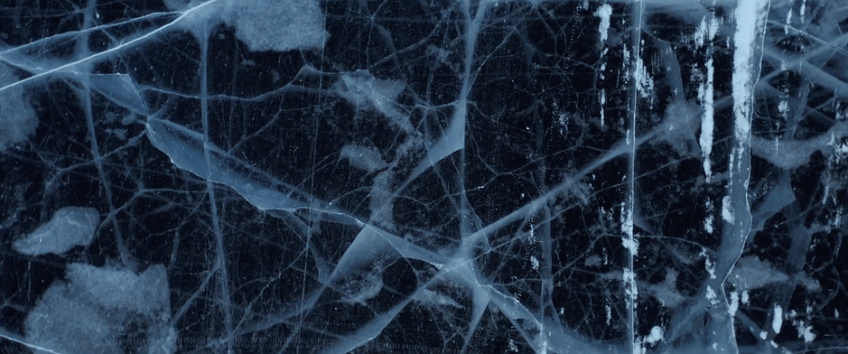 This aerial masterpiece was created with DJI Mini 2 in zero degree temps