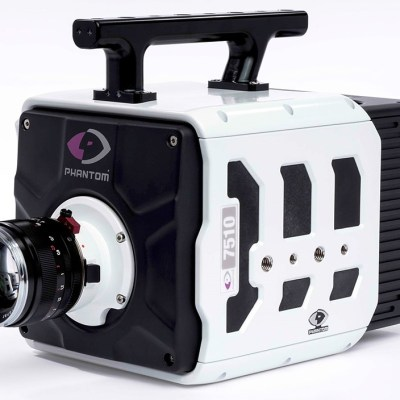 New Phantom TMX high-speed cameras can record at up to 1.75M fps