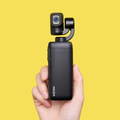 Moza launches the Moin Camera, a 3-axis 4K pocket camera with an articulating screen