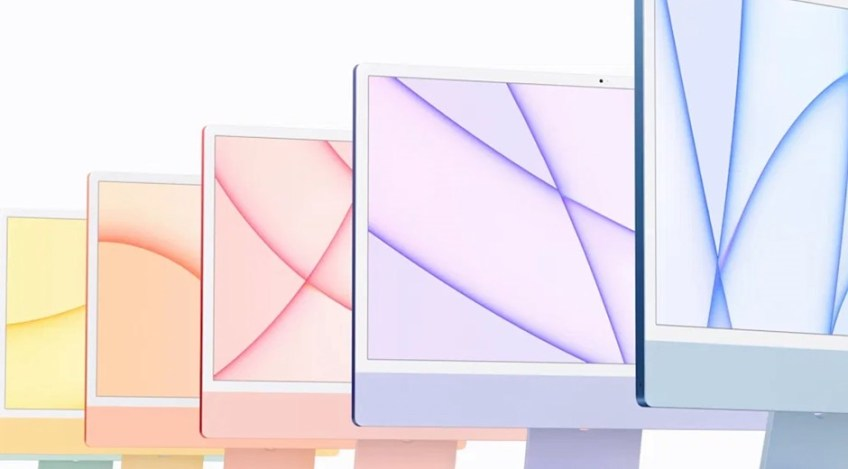 Apple announces new 24″ M1-powered iMacs in an array of bright new colors