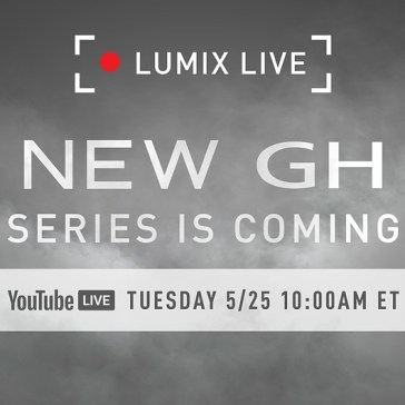 Panasonic will announce a new GH series camera on May 25