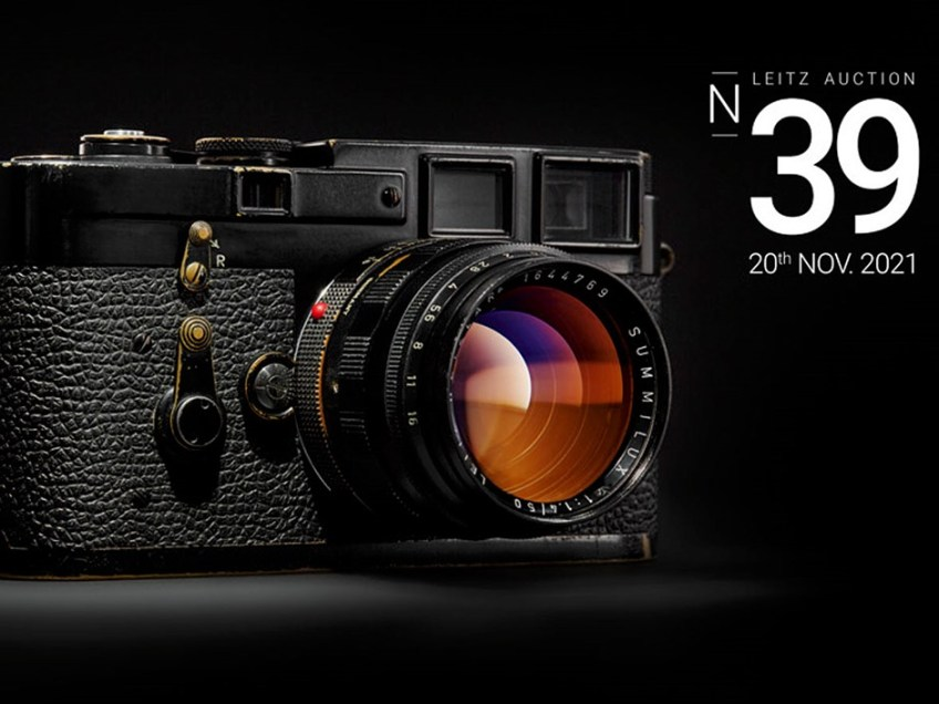 39th Leitz Photographica Auction will include rare Leica MP, prototype prime & much more