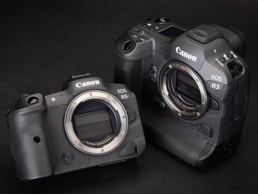 Canon EOS R3 and Canon EOS R5 compared
