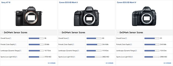 Canon v. Sony FF Sensors: Is the difference that big