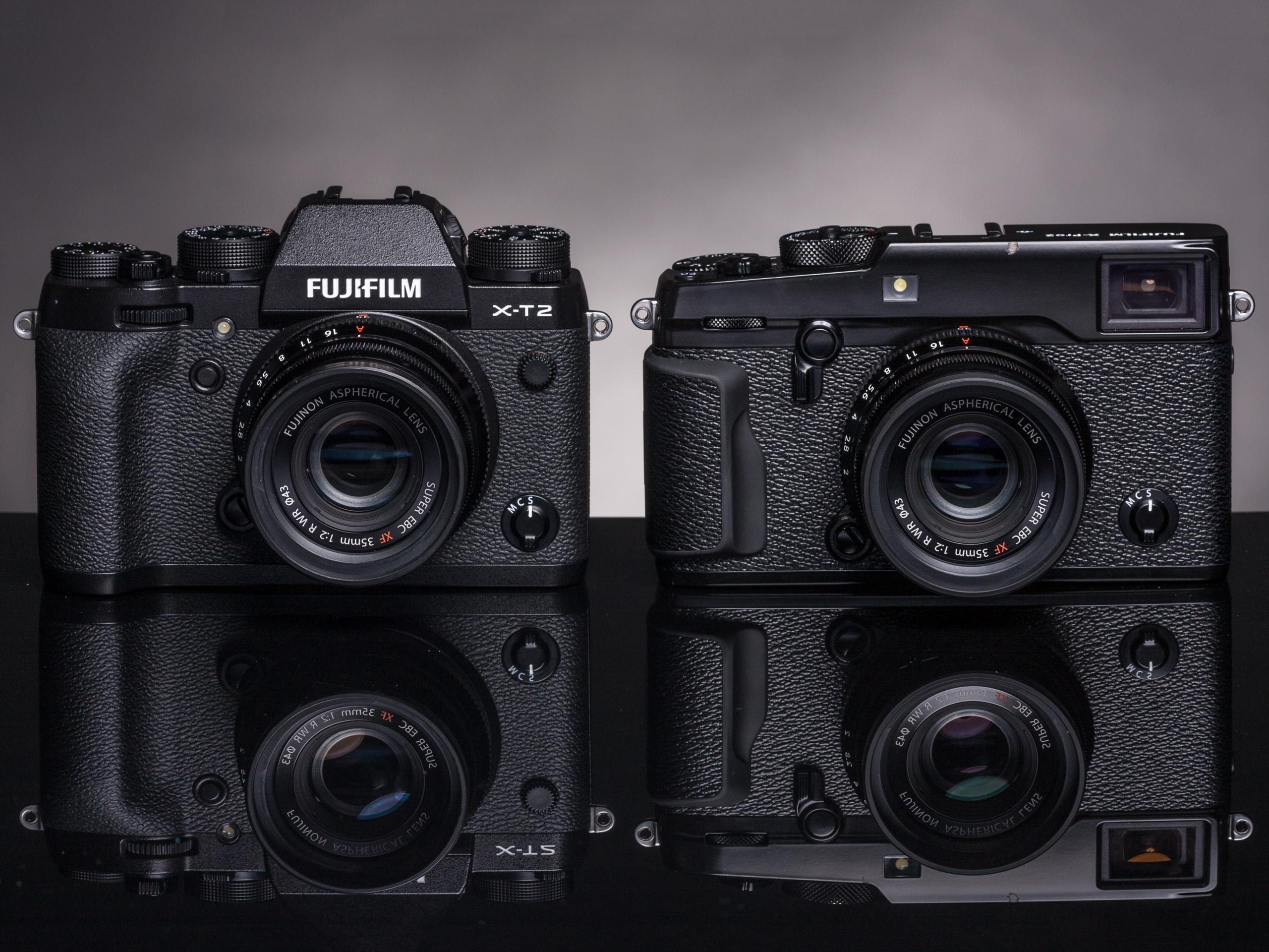 Fujifilm X-Pro2 versus X-T2: Seven key differences: Digital ...