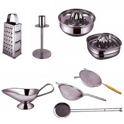 kitchen tool small buffet stainless steel set rajendra industries mumbai
