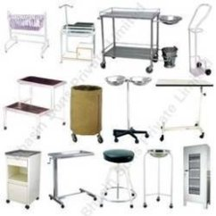 Revolving Chair Features Office Assembly Hospital Furniture - Ward Equipment Exporter From New Delhi