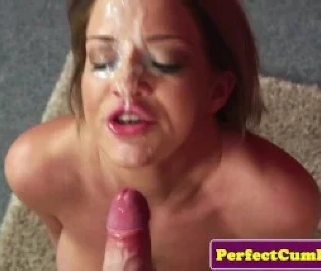 British Adultery Gf Jizzed On Face