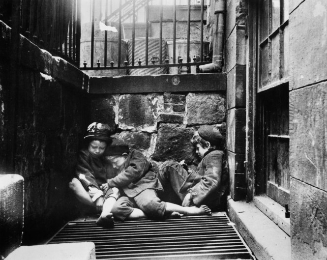 Squalid Tenements Of 1890s New York City