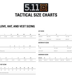 need with the 5 11 tactical sizing chart  [ 1944 x 1448 Pixel ]